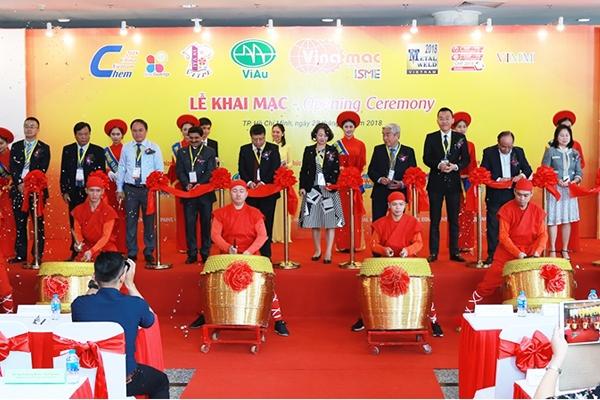 Triển lãm Quốc tế về Gang thép và Gia công kim loại lần thứ 10 tại Việt Nam